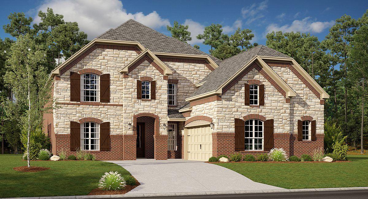 Exterior featured in the Sedona By Village Builders in Dallas, TX
