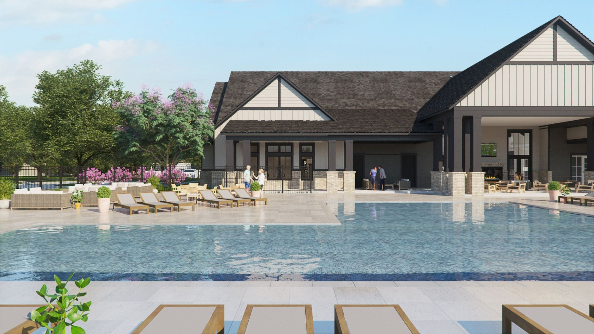 'Osborne Trails - Osborne Trails Central' by Lennar - Indiana in Indianapolis