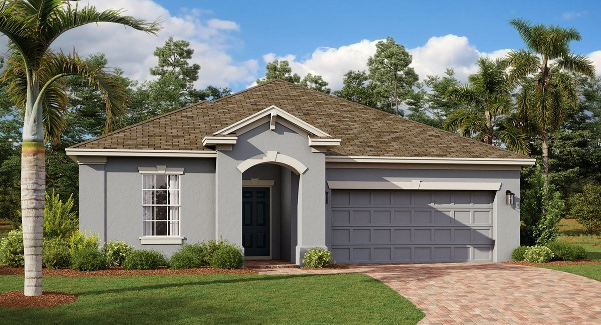 Exterior featured in the Mashpee By Lennar in Orlando, FL