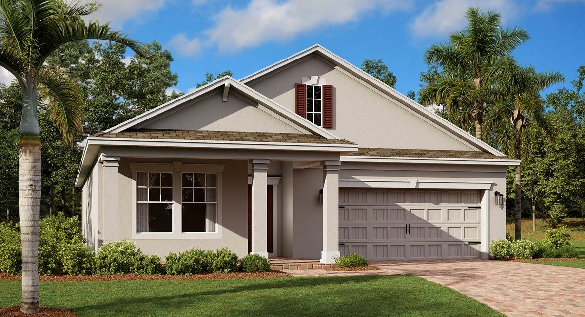 Exterior featured in the Bourne By Lennar in Orlando, FL