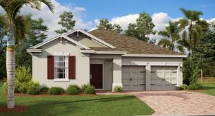 Eastham II - Hanover Lakes - Cottage Collection: Saint Cloud, Florida - Lennar