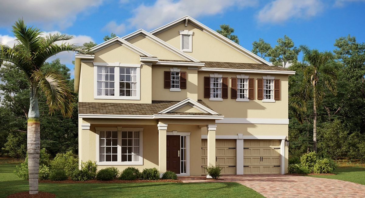 Exterior featured in the Orleans II By Lennar in Orlando, FL