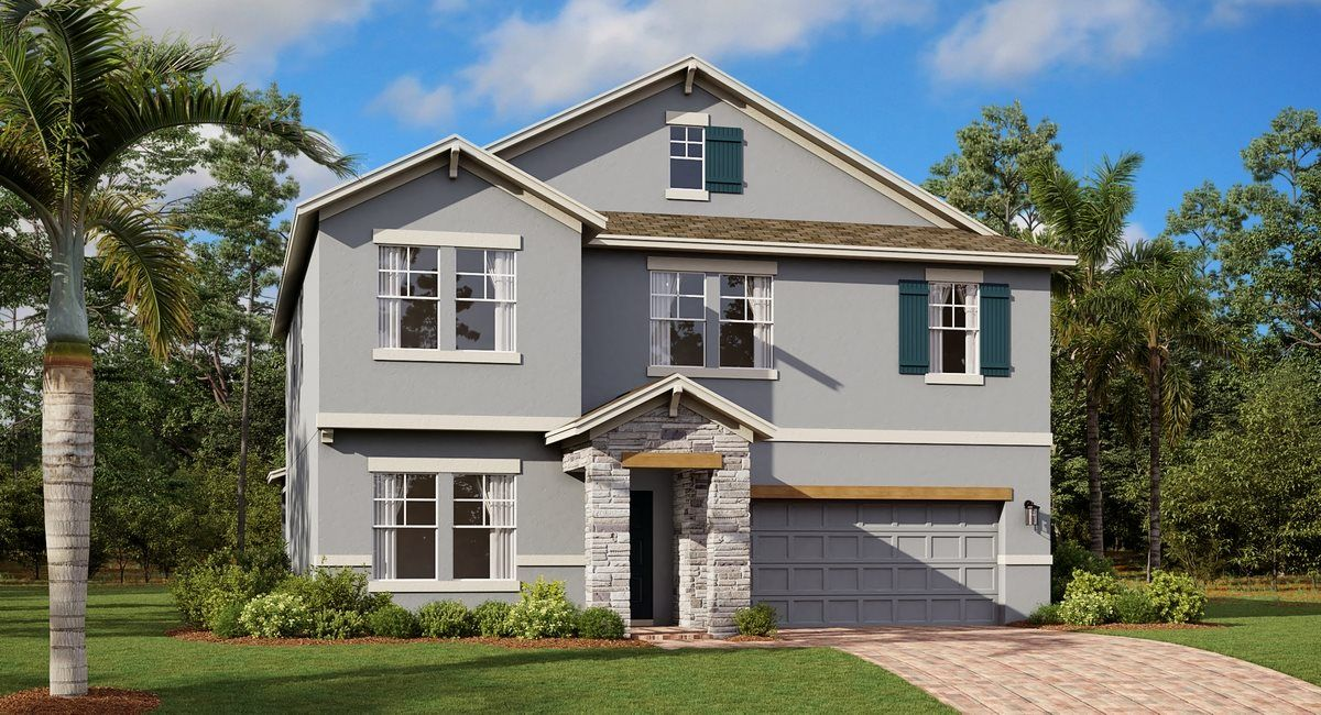 Exterior featured in the Provincetown By Lennar in Orlando, FL