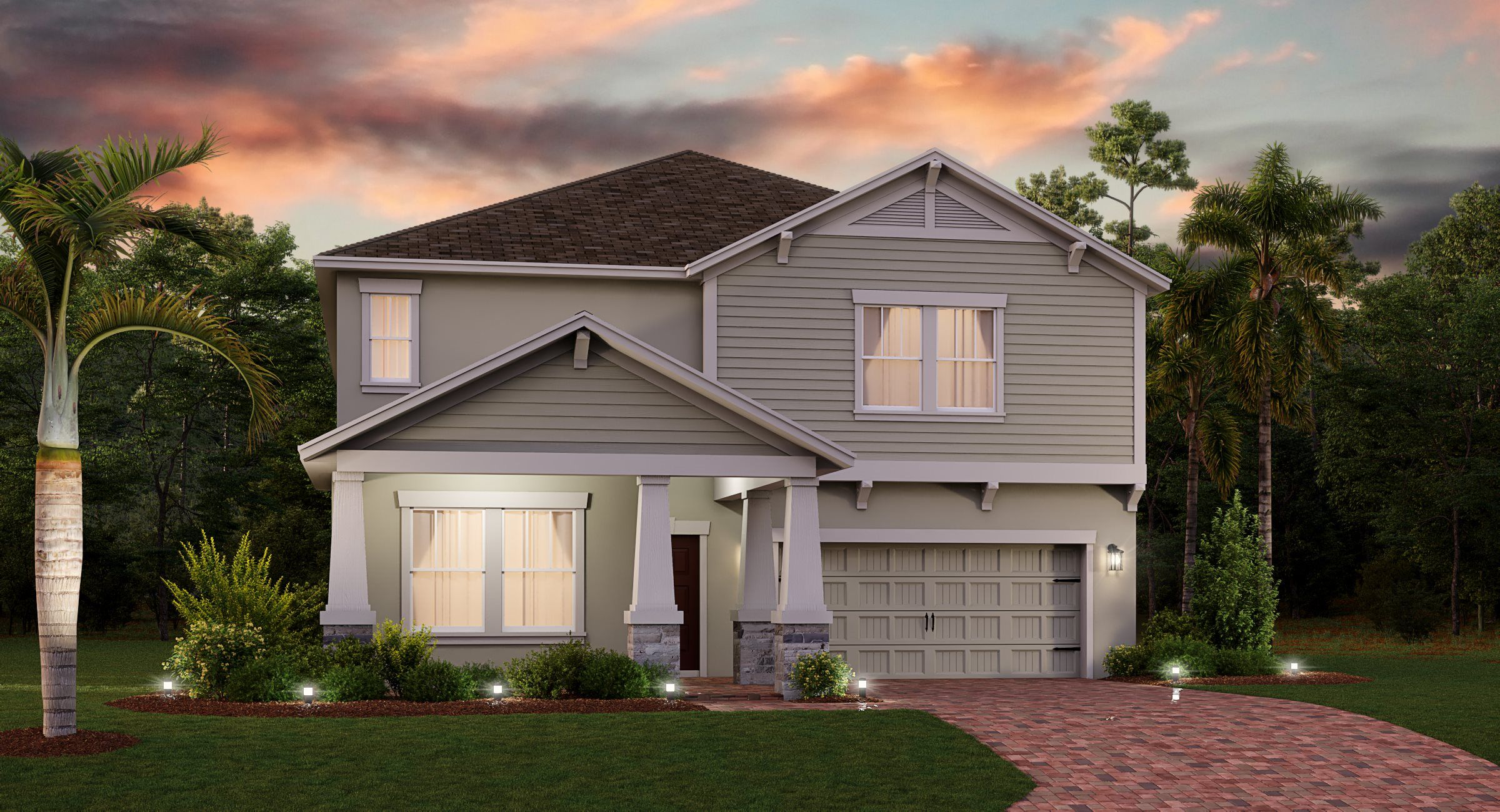 Exterior featured in the Peabody By Lennar in Orlando, FL