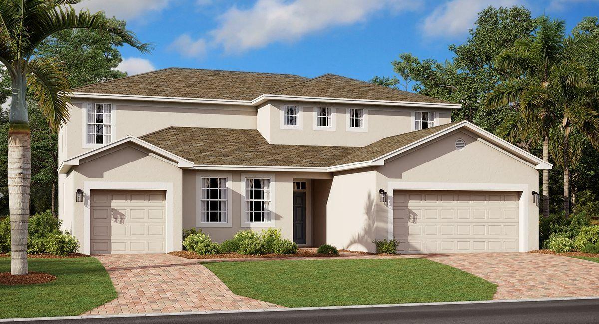 'Hanover Lakes - Harbor Collection' by Lennar - Orlando Homebuilding in Orlando