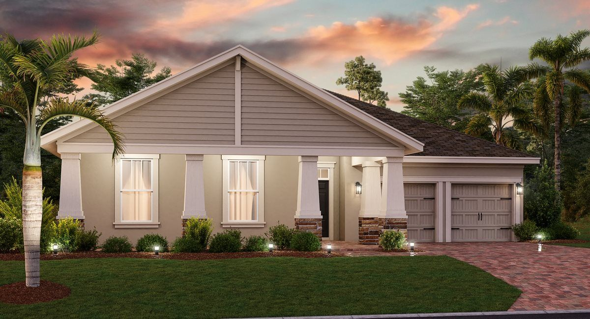 Exterior featured in the Greythorne By Lennar in Orlando, FL