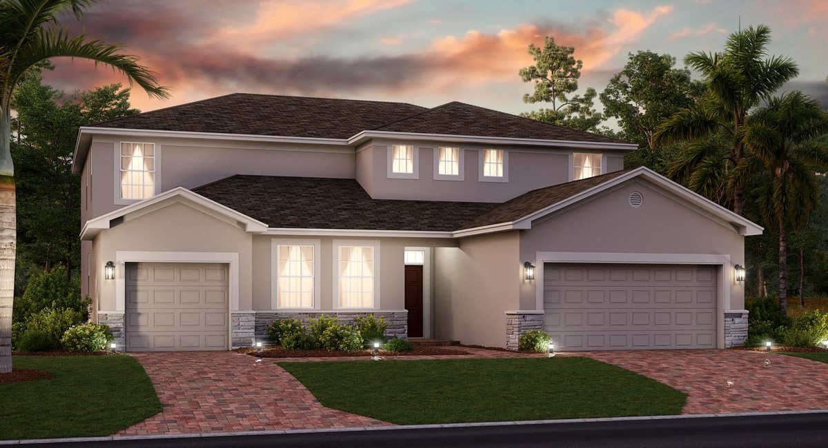 Exterior featured in the Liberation By Lennar in Orlando, FL