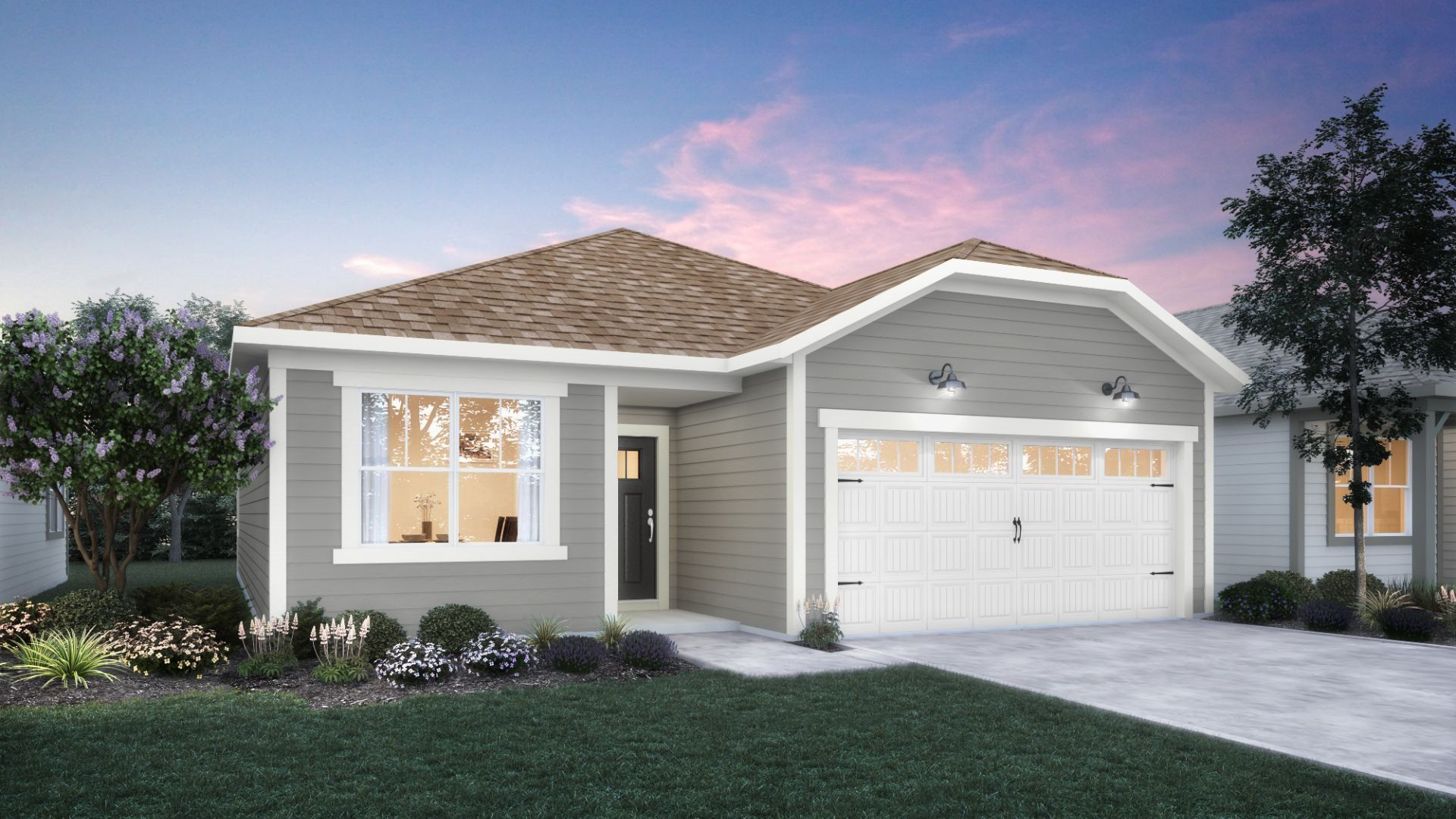 Exterior featured in the Atwood By Lennar in Indianapolis, IN