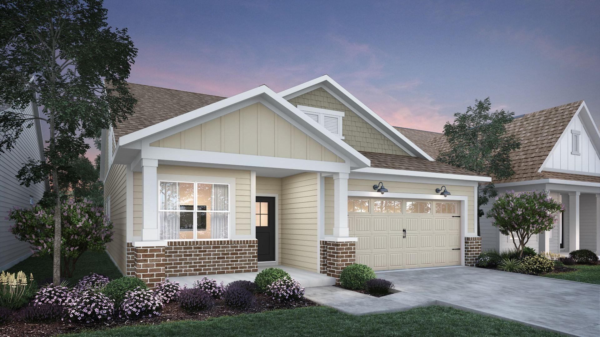 Exterior featured in the Fletcher By Lennar in Indianapolis, IN
