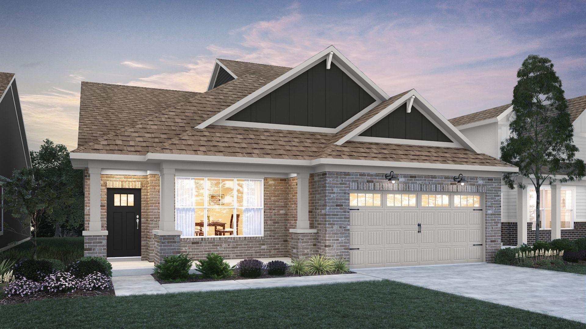 Exterior featured in the Brookville By Lennar in Indianapolis, IN