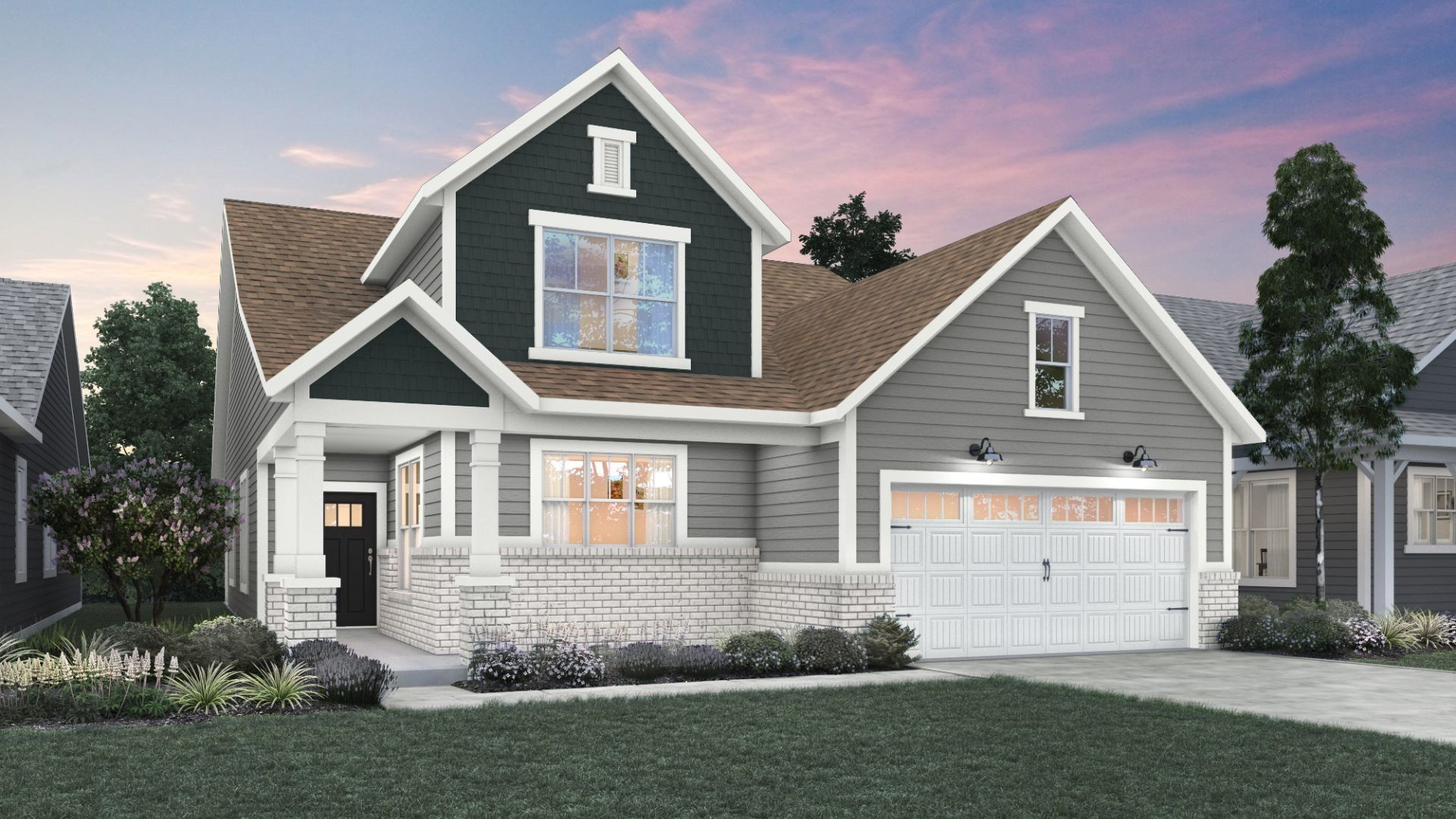 Exterior featured in the Monroe By Lennar in Indianapolis, IN
