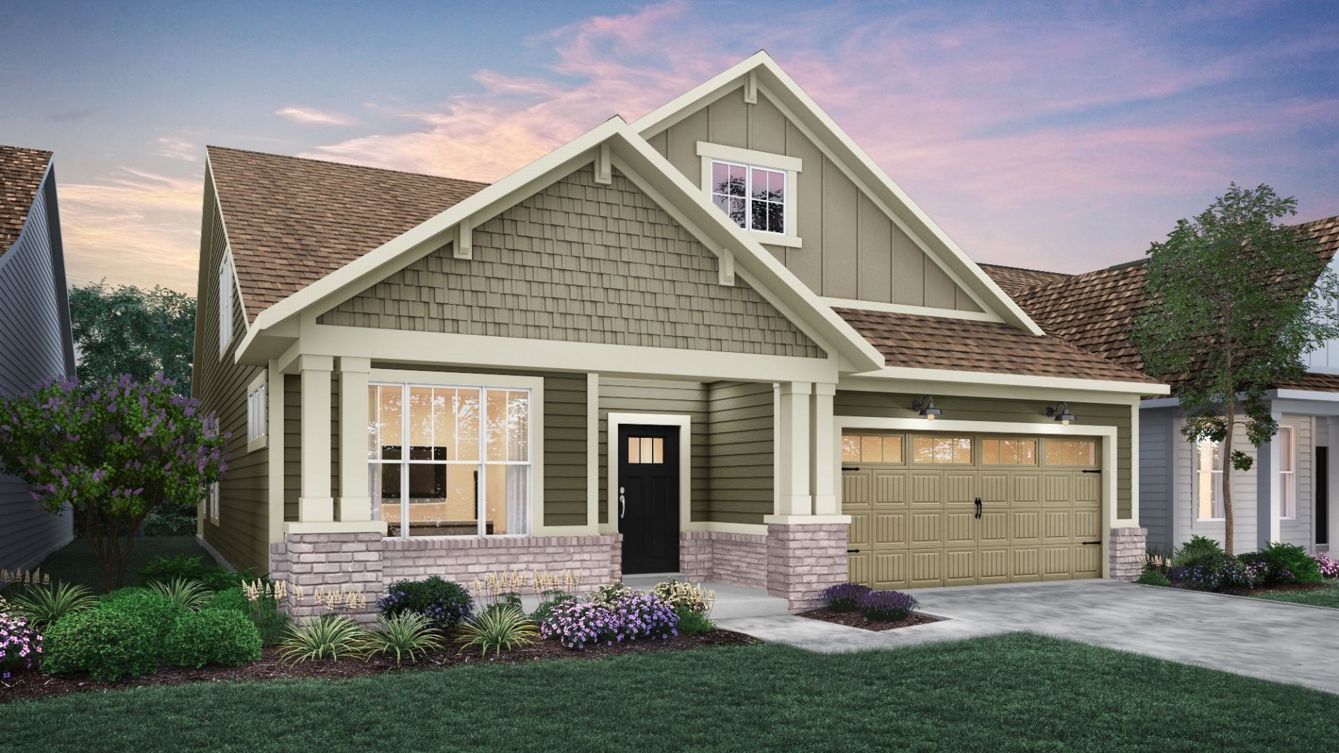 Exterior featured in the Shafer By Lennar in Indianapolis, IN
