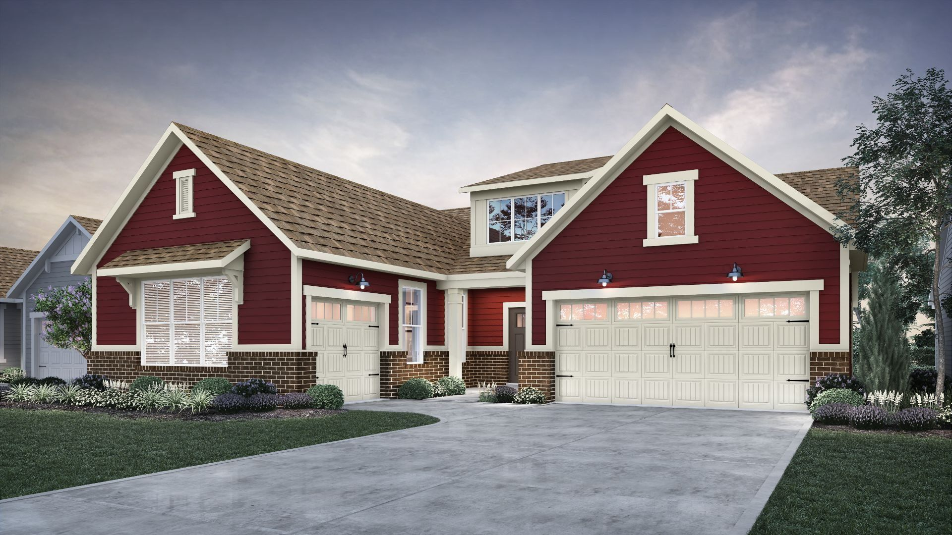 Exterior featured in the Hardy By Lennar in Indianapolis, IN