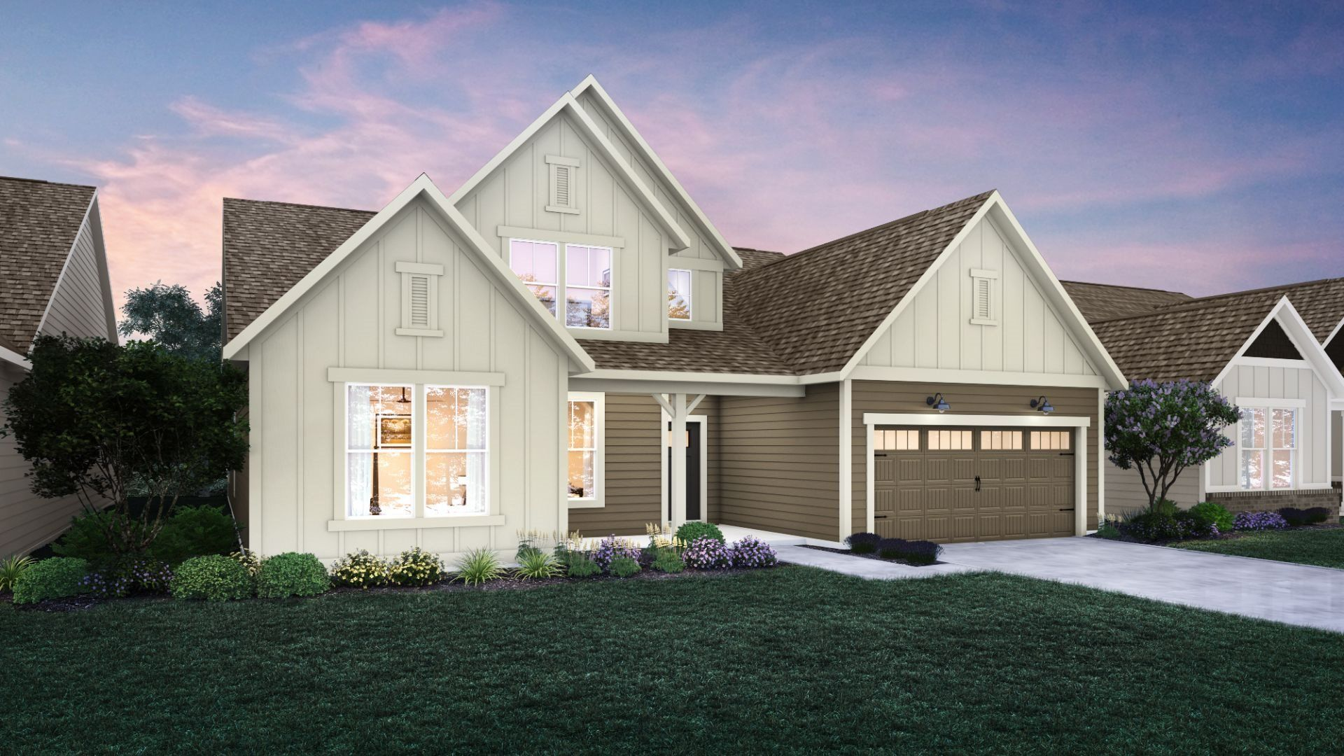 Exterior featured in the Sullivan By Lennar in Indianapolis, IN