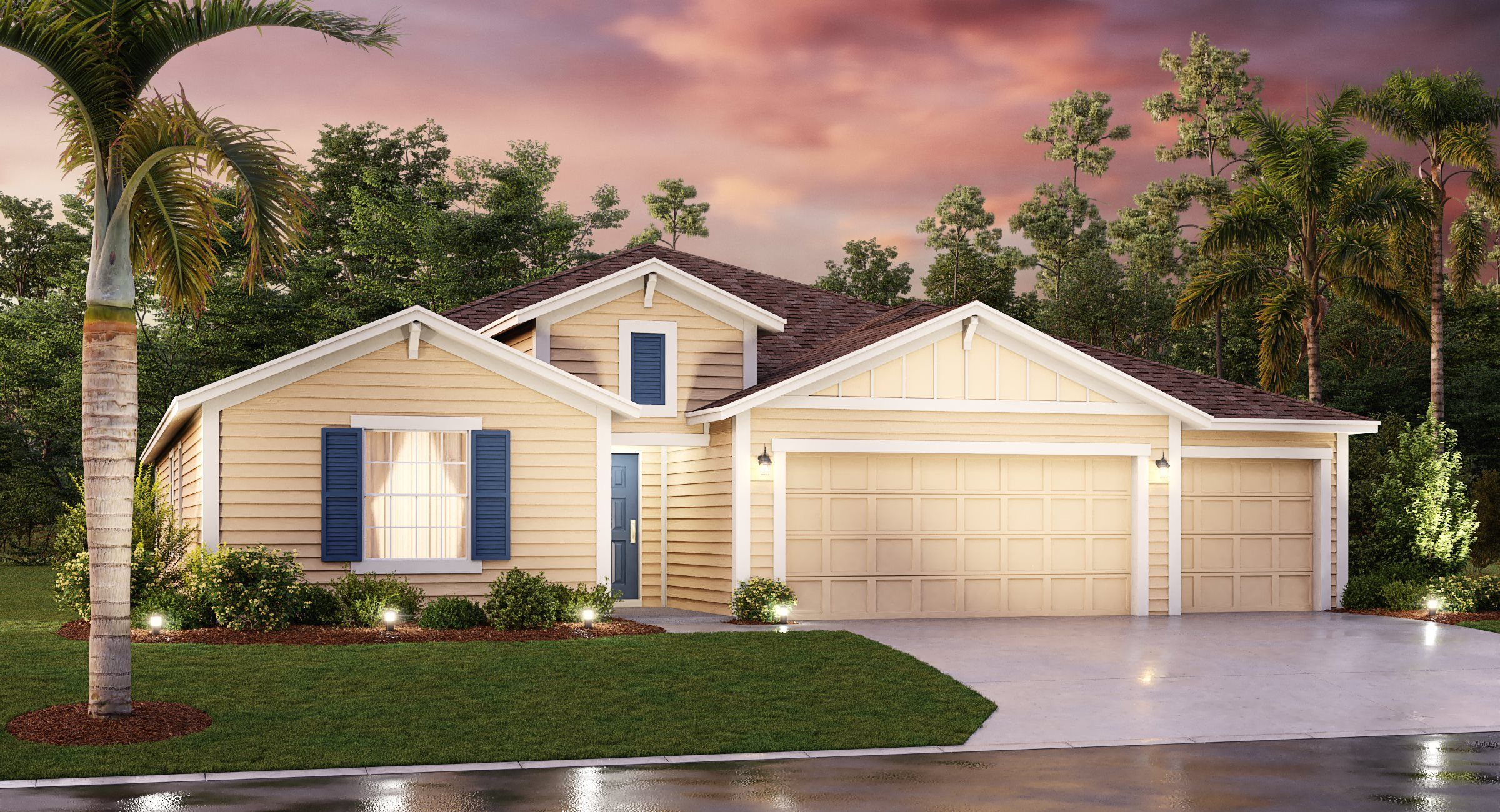 Exterior featured in the Flynn By Lennar in Orlando, FL