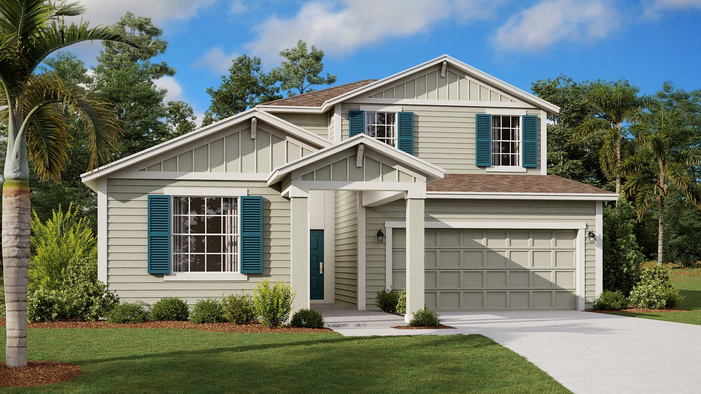 Exterior featured in the Baxter By Lennar in Orlando, FL