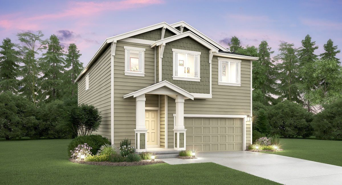 Exterior featured in the Aspen By Lennar in Seattle-Bellevue, WA