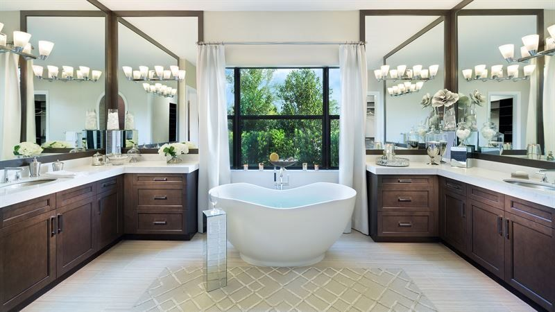 Bathroom featured in the Alexandria By Lennar in Palm Beach County, FL