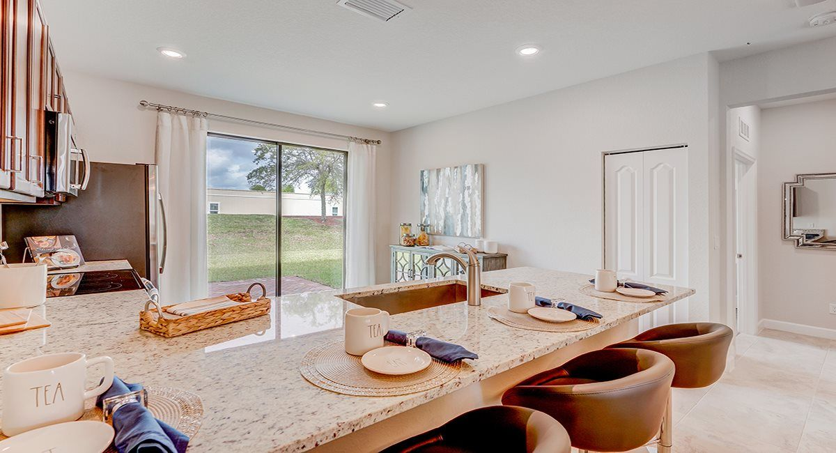 Kitchen featured in the Sovereign By Lennar in Indian River County, FL