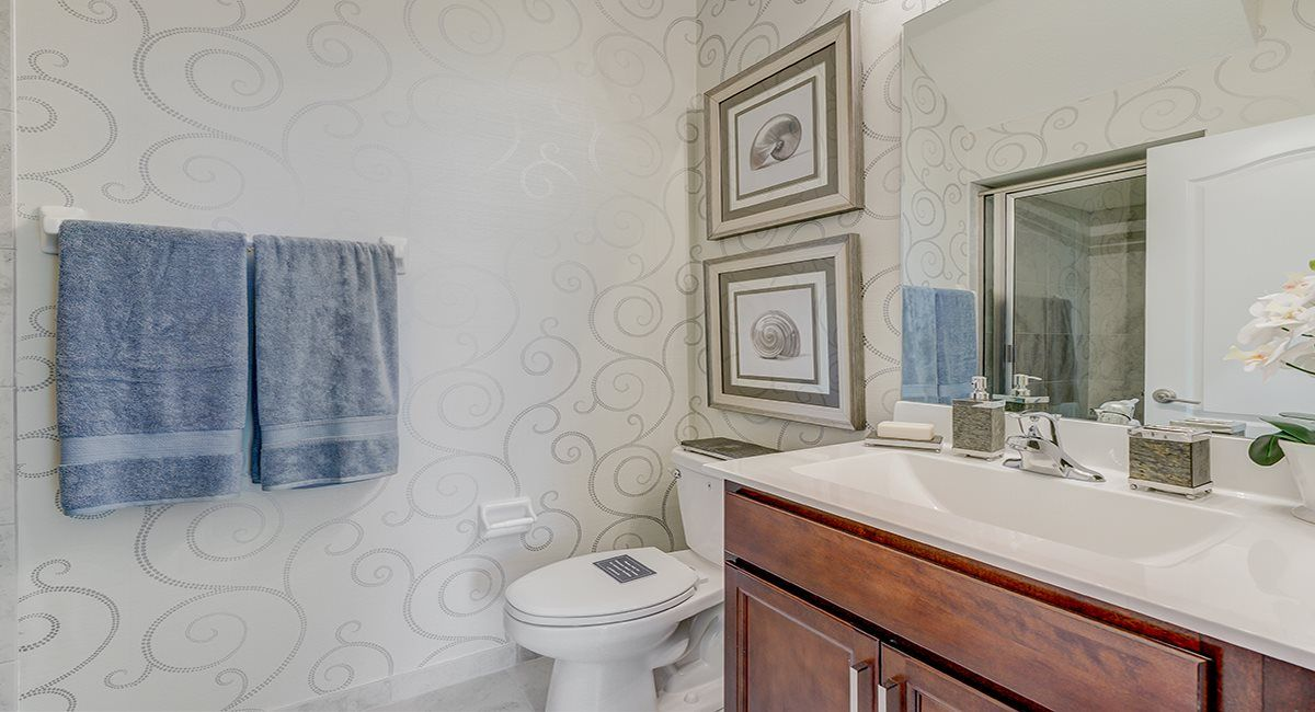 Bathroom featured in the Sovereign By Lennar in Indian River County, FL