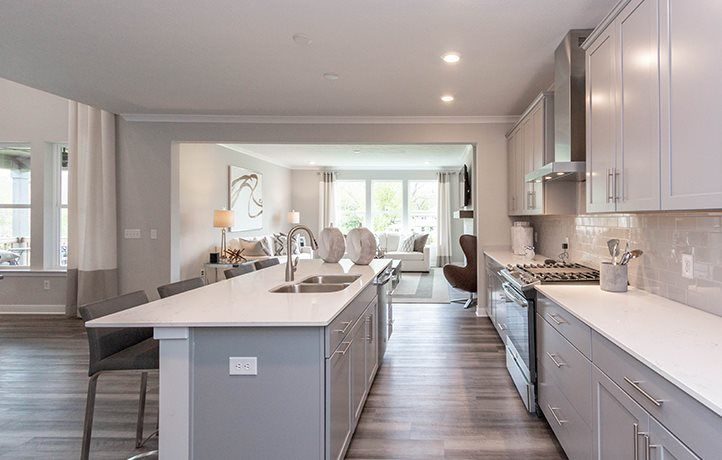 Kitchen featured in the Riviera By Lennar in Indianapolis, IN
