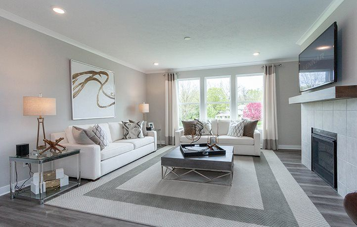 Living Area featured in the Riviera By Lennar in Indianapolis, IN