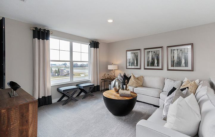 Living Area featured in the Brunswick By Lennar in Indianapolis, IN