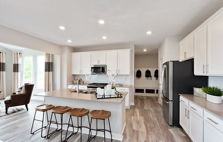 Kitchen featured in the Everett By Lennar in Indianapolis, IN