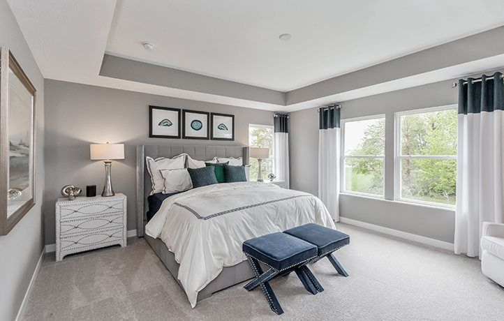 Bedroom featured in the Fairmont By Lennar in Indianapolis, IN