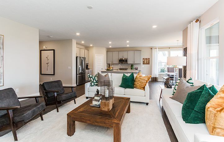Living Area featured in the Wilmington By Lennar in Indianapolis, IN