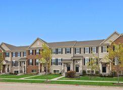 Amherst ei - Woodlore Estates - Townhomes: Crystal Lake, Illinois - Lennar
