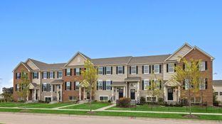 Amherst ei - Prairie Commons - Urban Townhomes: Batavia, Illinois - Lennar