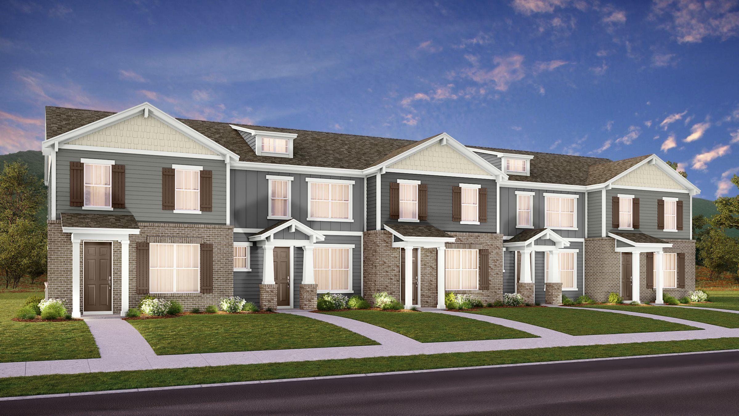 Exterior featured in the Acadia By Lennar in Nashville, TN