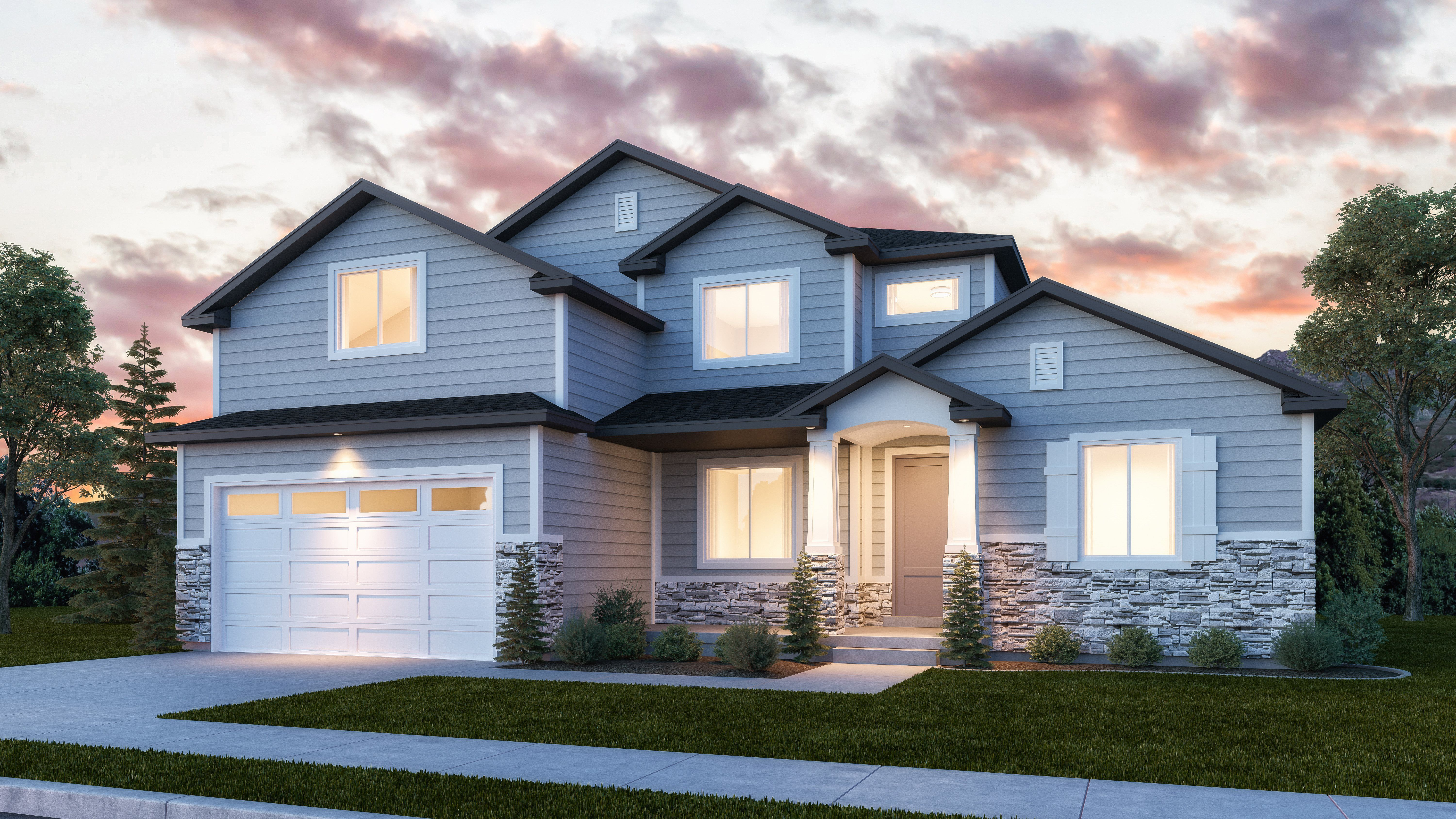 Exterior featured in the Sun Valley By Lennar in Salt Lake City-Ogden, UT