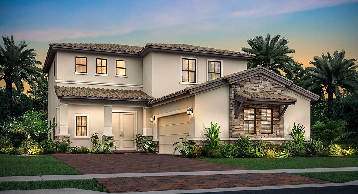 Exterior featured in the Sienna By Lennar in Palm Beach County, FL