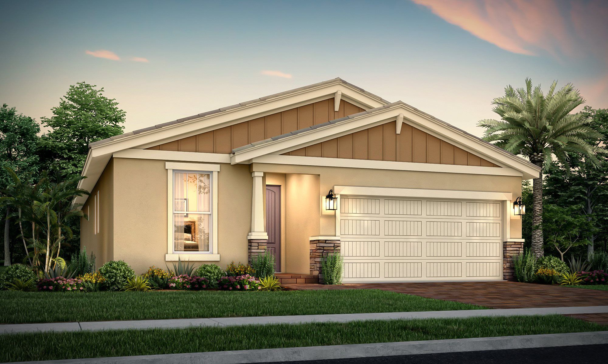 Exterior featured in the Magnolia By Lennar in Palm Beach County, FL