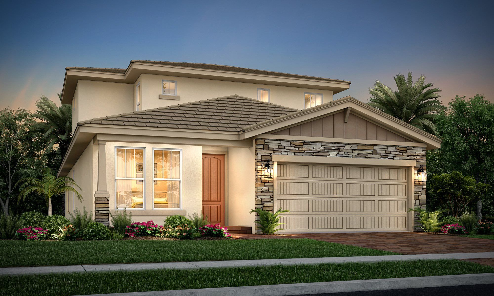 Exterior featured in the Sycamore By Lennar in Palm Beach County, FL
