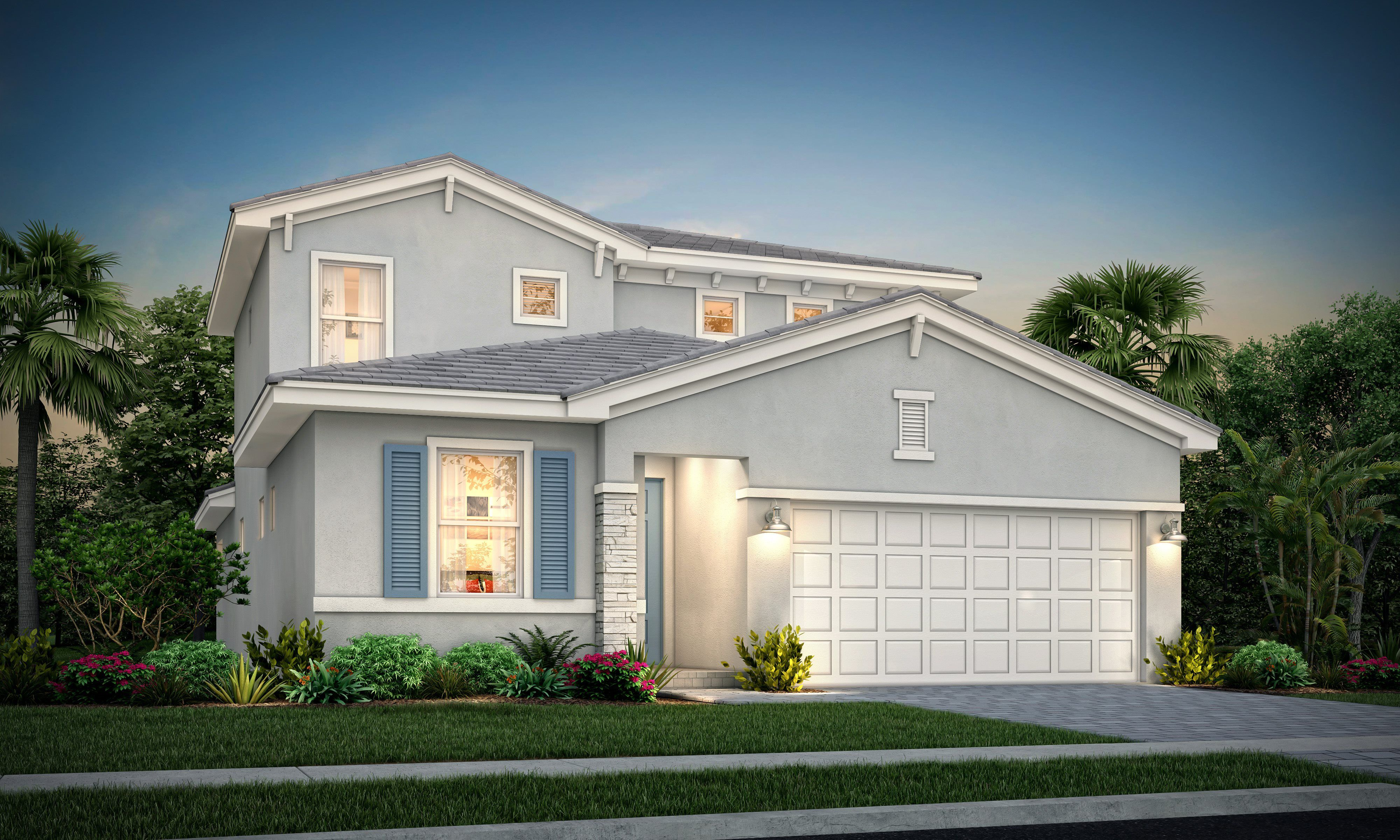Exterior featured in the Willow By Lennar in Palm Beach County, FL