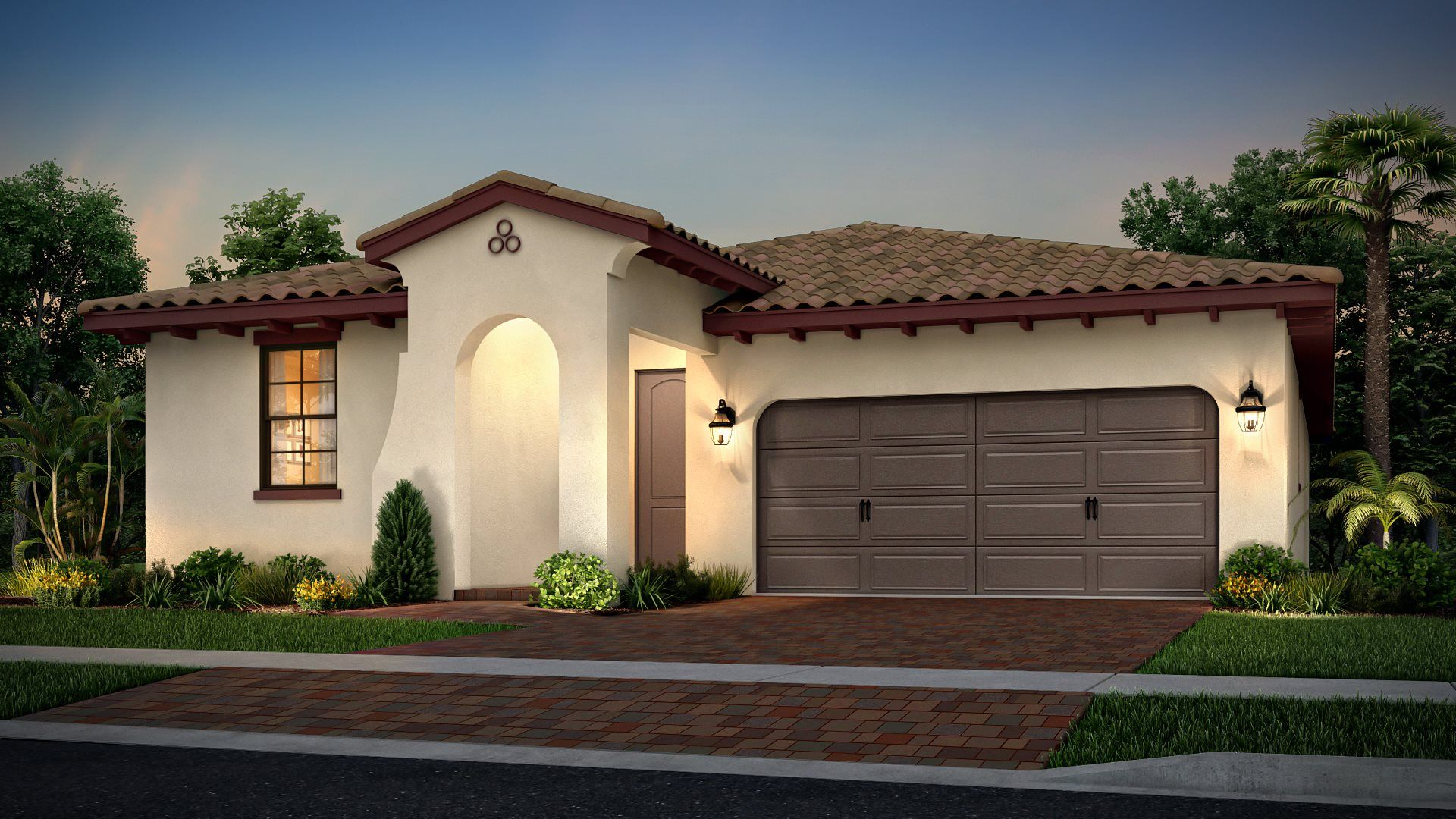Exterior featured in the Dahlia By Lennar in Palm Beach County, FL