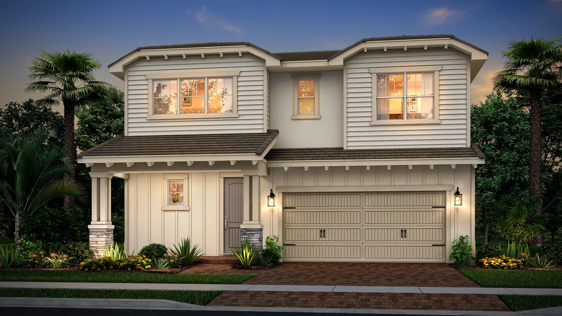 Exterior featured in the Lili By Lennar in Palm Beach County, FL