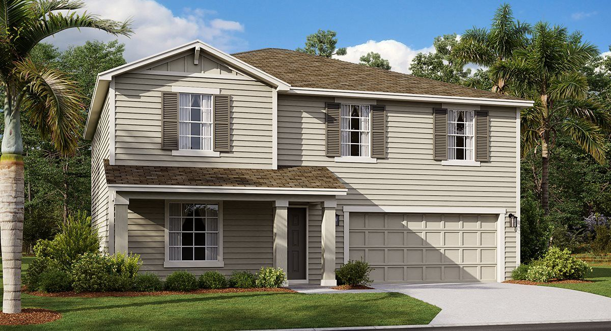 Exterior featured in the Catherine By Lennar in Orlando, FL