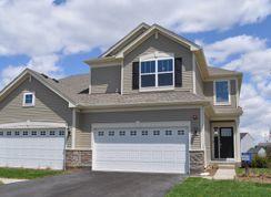 Courtney II ei - Raintree Village - Townhomes: Yorkville, Illinois - Lennar