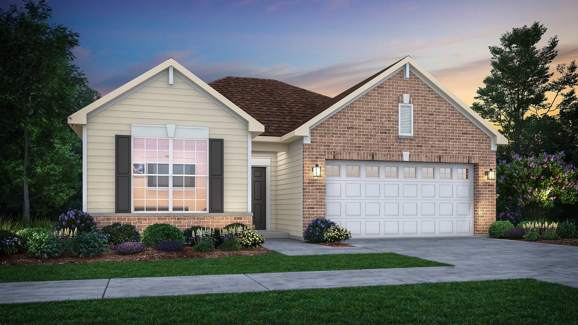 Exterior featured in the Florence ei By Lennar in Gary, IN
