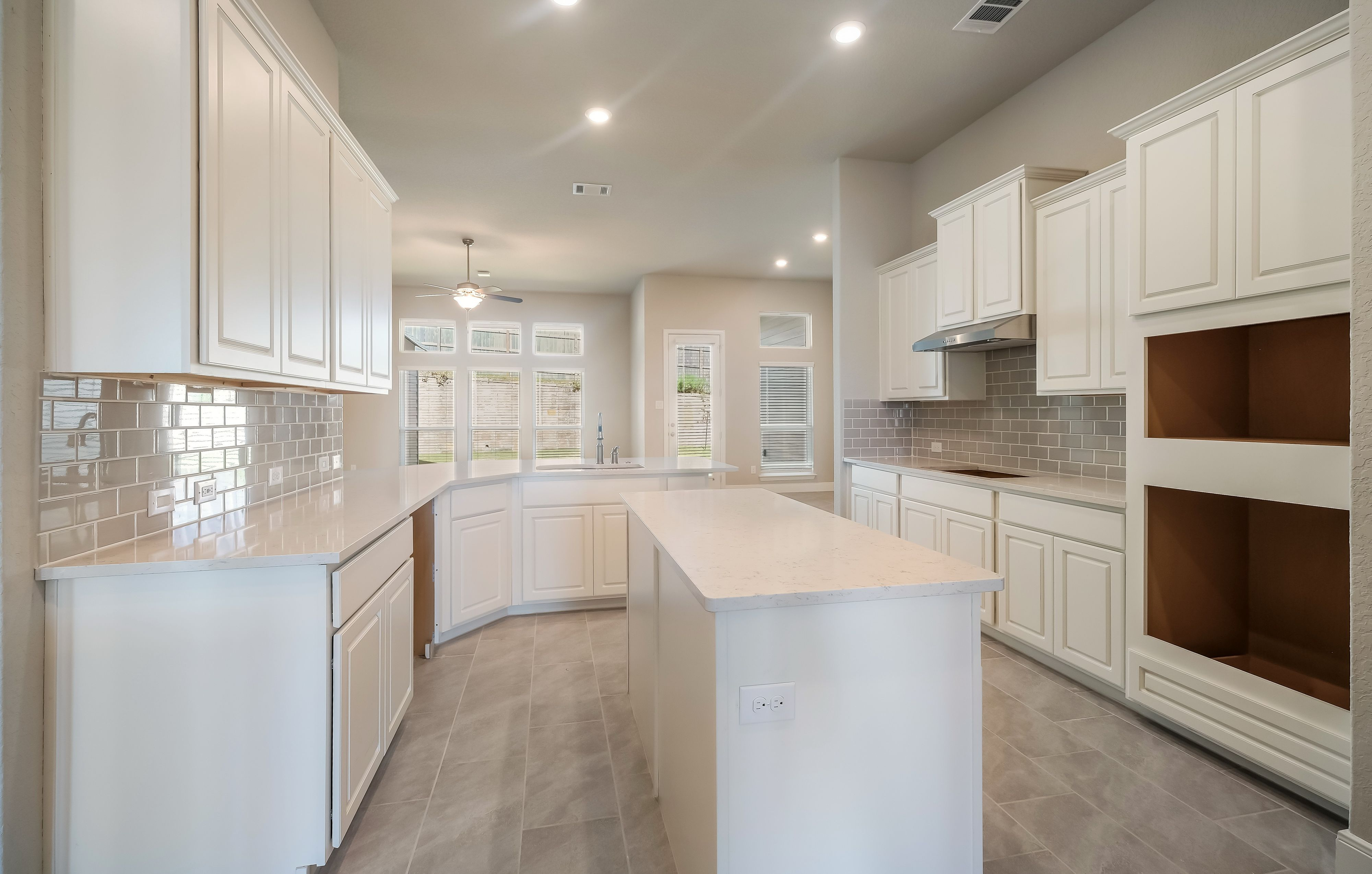 Kitchen featured in the Coral By Village Builders in San Antonio, TX