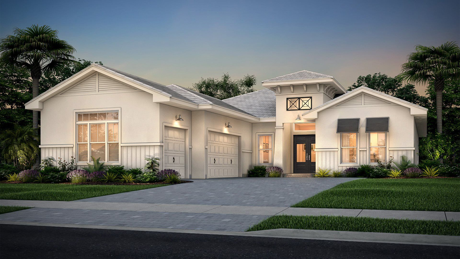 Exterior featured in the Schooner By Lennar in Indian River County, FL