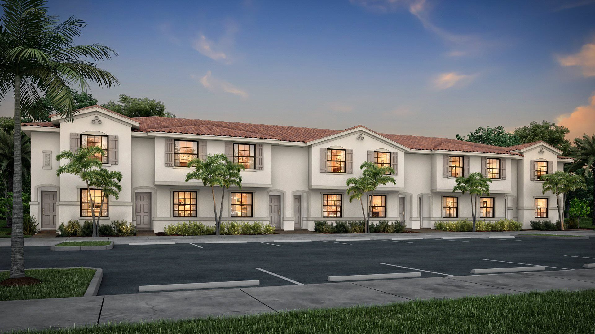 Exterior featured in the Elm By Lennar in Palm Beach County, FL