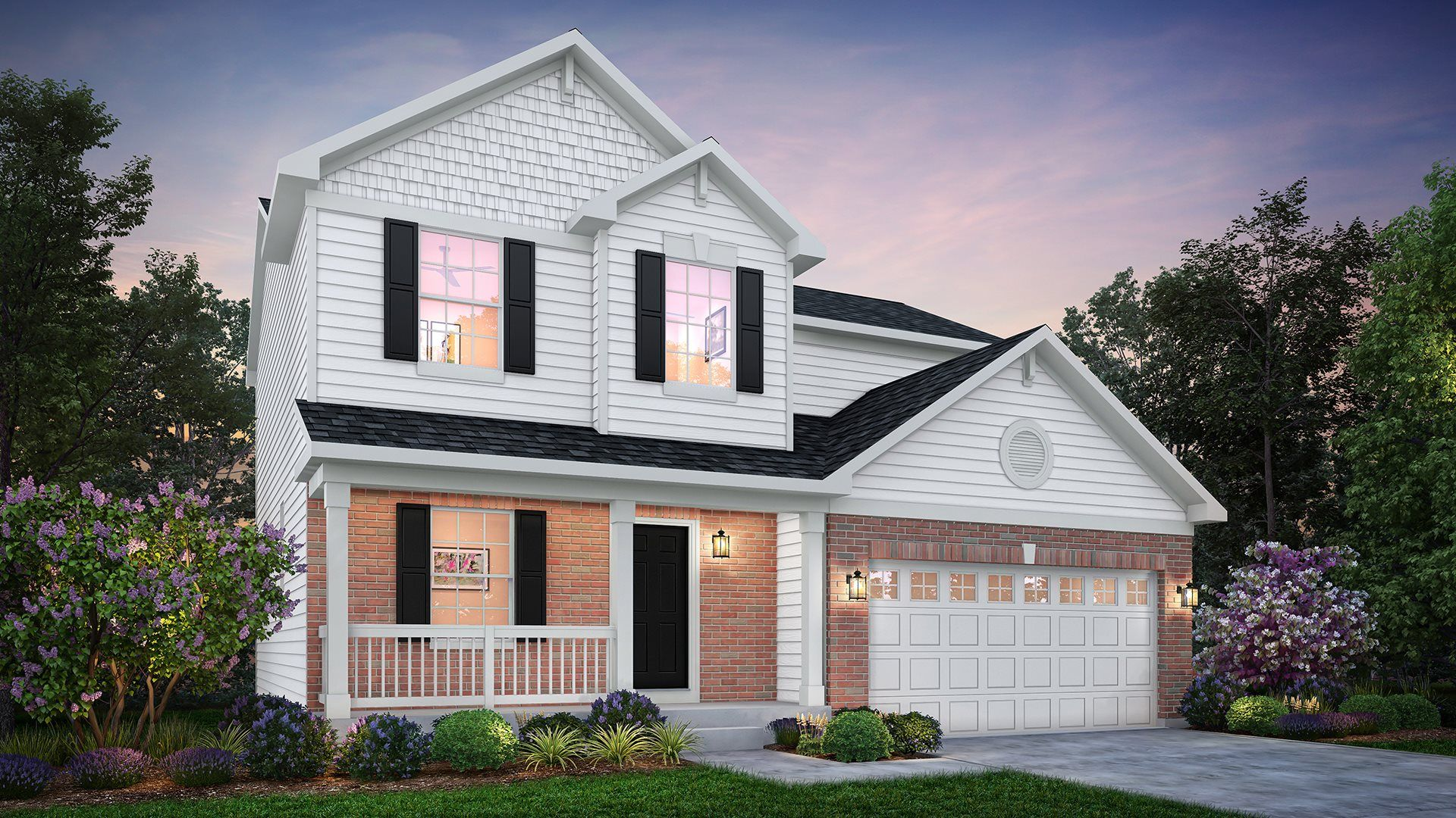 Exterior featured in the Aberdeen ei By Lennar in Gary, IN