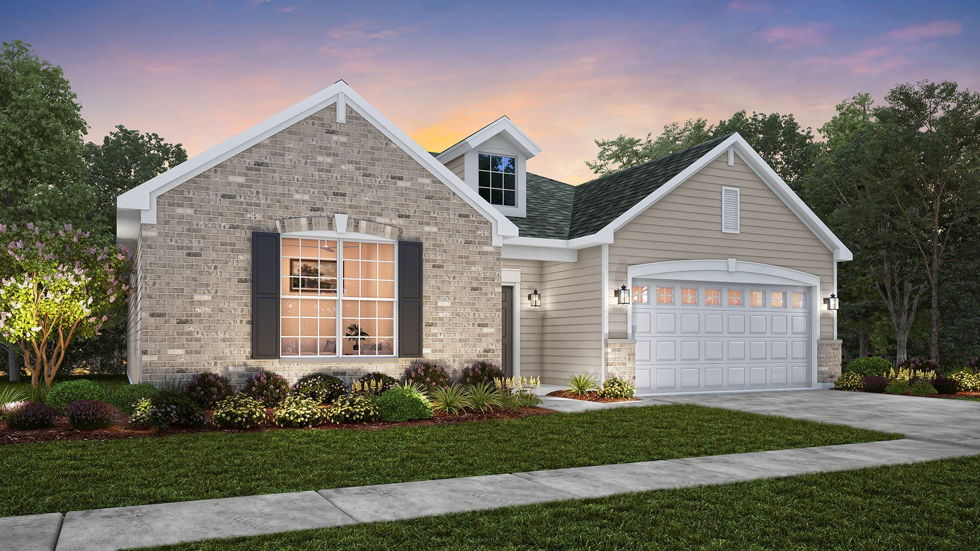 Exterior featured in the Siena  ei By Lennar in Gary, IN
