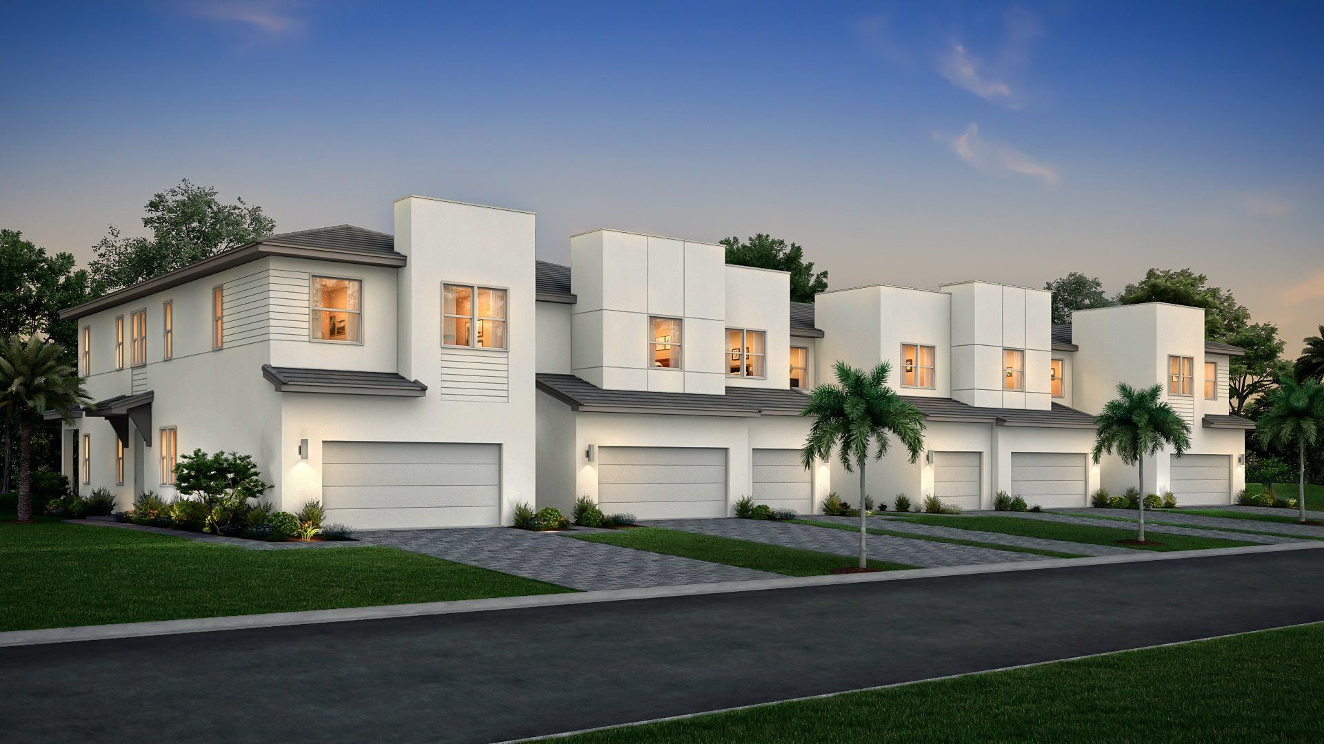 Exterior featured in the Barcelona By Lennar in Palm Beach County, FL