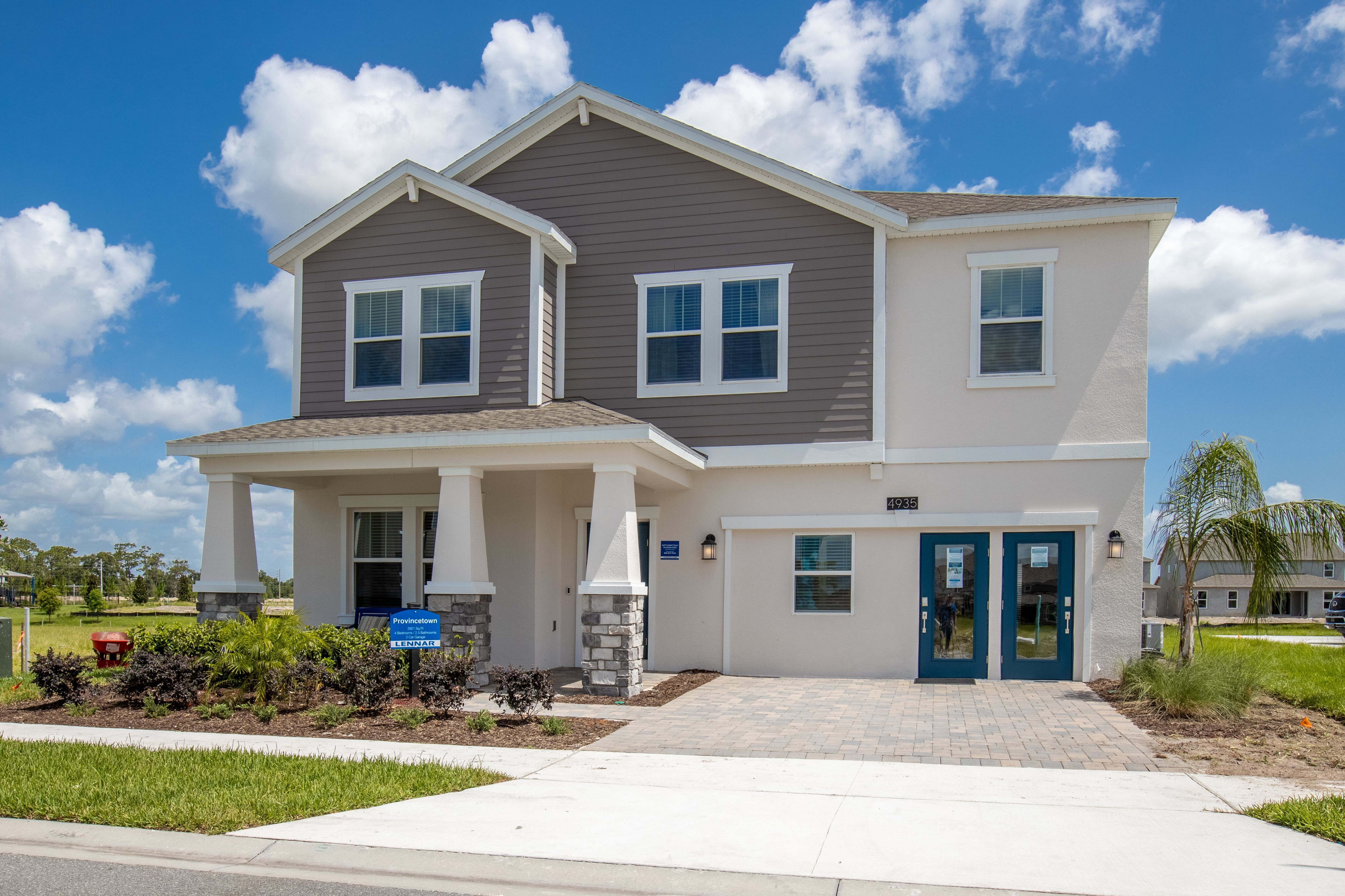 'Hanover Lakes - Cottage Collection' by Lennar - Orlando Homebuilding in Orlando